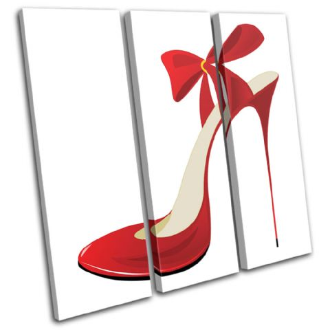 Shoe  Illustrated Red Fashion - 13-0211(00B)-TR11-LO